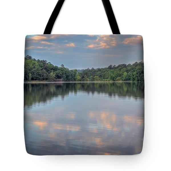 Shores Lake Tote Bag