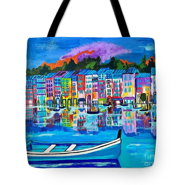 Shores Of Italy Tote Bag