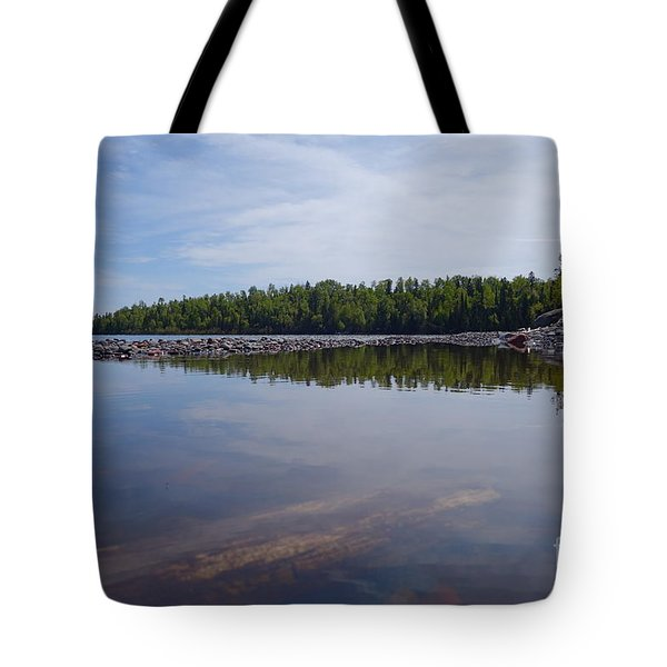 Tote Bag featuring the photograph Shores Of Superior by Sandra Updyke