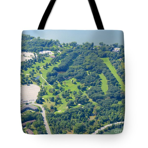 Tote Bag featuring the photograph Shorewood Golf by Bill Lang