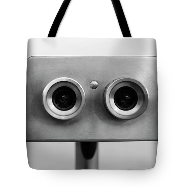 Tote Bag featuring the photograph Short Circuit by Rico Besserdich