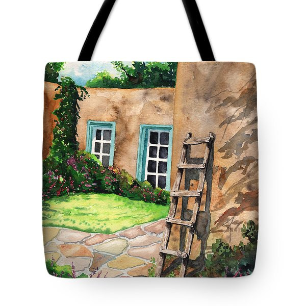 Short Ladder Tote Bag