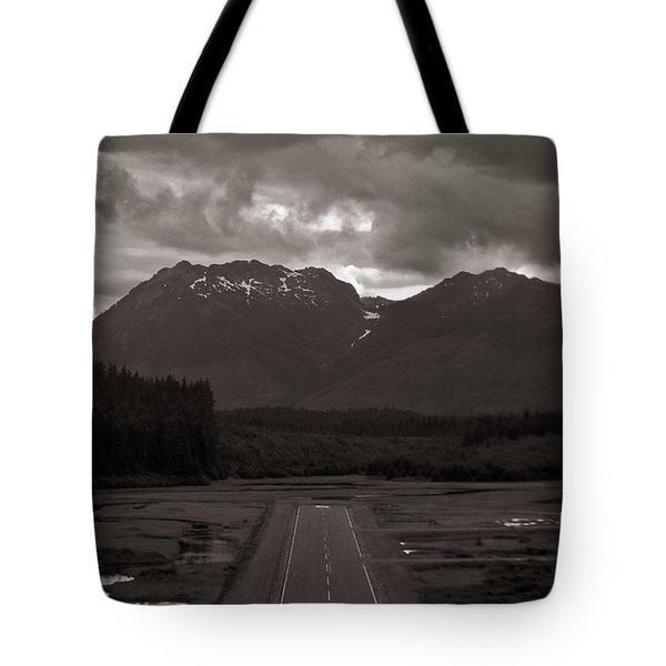 Short Runway Tote Bag by Darcy Michaelchuk