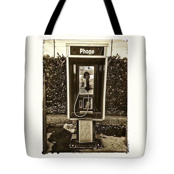 Short Stack Pay Phone Tote Bag
