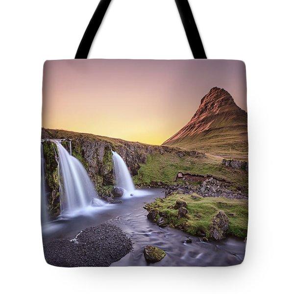 Short Summernights Of Eternal Twilight Tote Bag