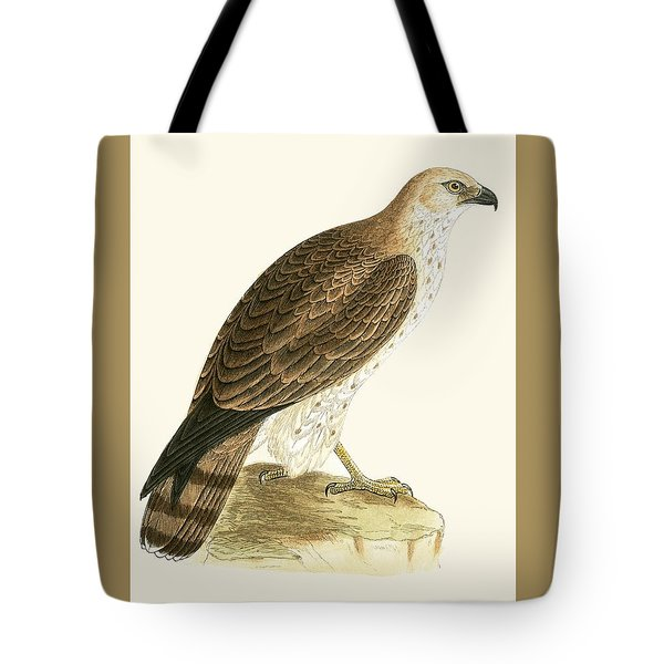 Short Toed Eagle Tote Bag