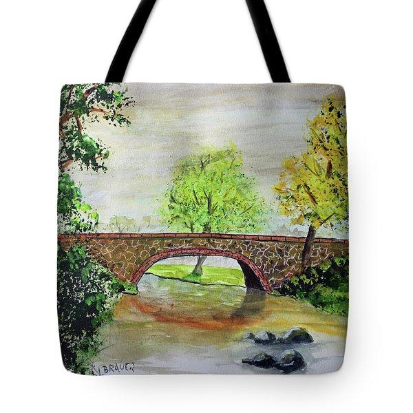 Shortcut Bridge Tote Bag
