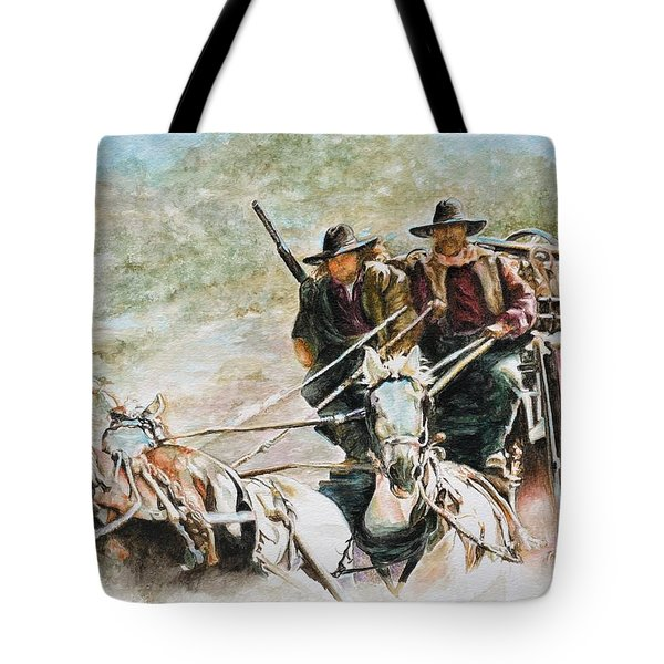 Shot Gun Tote Bag