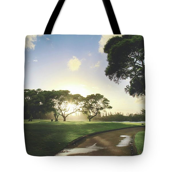Tote Bag featuring the photograph Show Me The Way by Laurie Search
