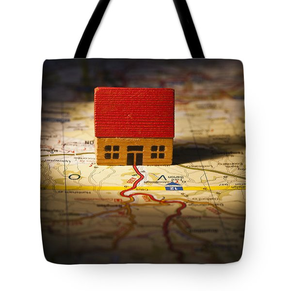 Show Me The Way To Go Home Tote Bag by Jan Bickerton
