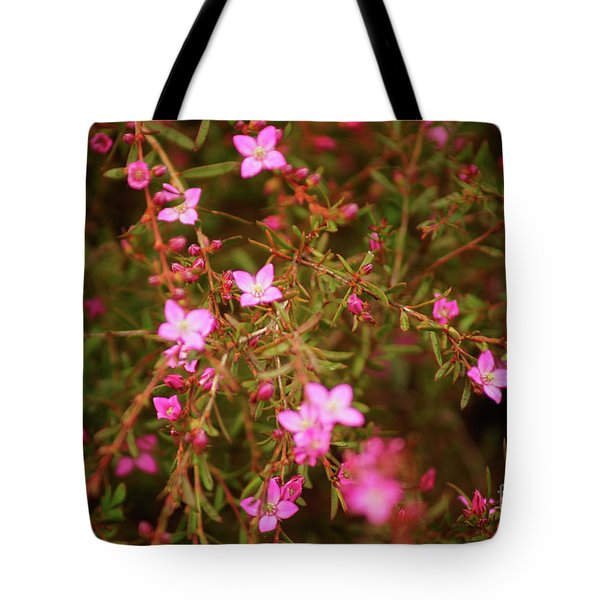 Shower Of Pink Tote Bag