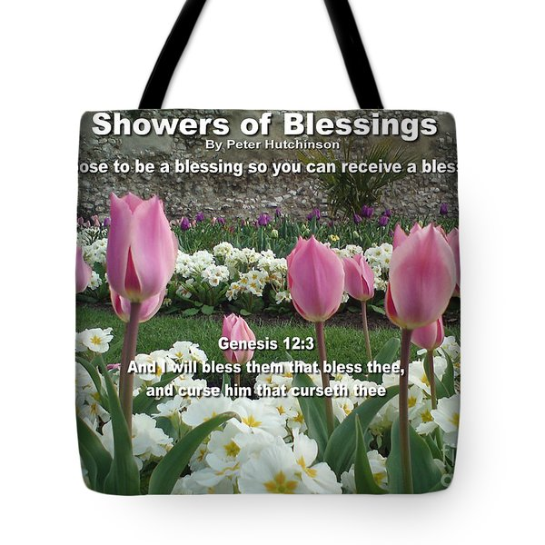 Showers Of Blessings Tote Bag