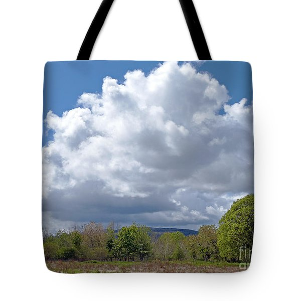 Tote Bag featuring the photograph Showery Day In Late May by Phil Banks