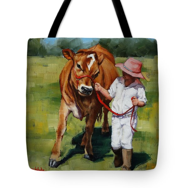 Showgirls Tote Bag by Margaret Stockdale