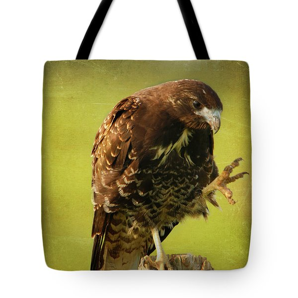 Tote Bag featuring the photograph Showing Claws by Charles McKelroy