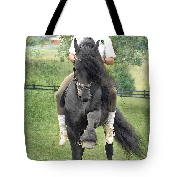 Showing Off Tote Bag by Fran J Scott