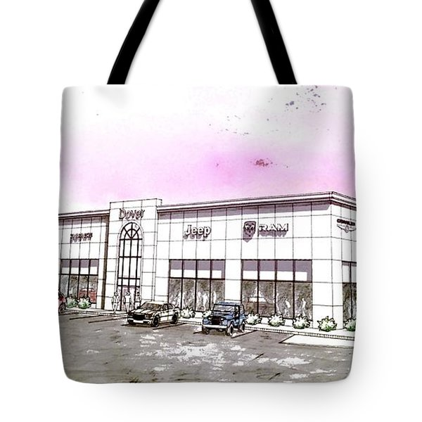Showroom Rendering Tote Bag by Jason Nicholas