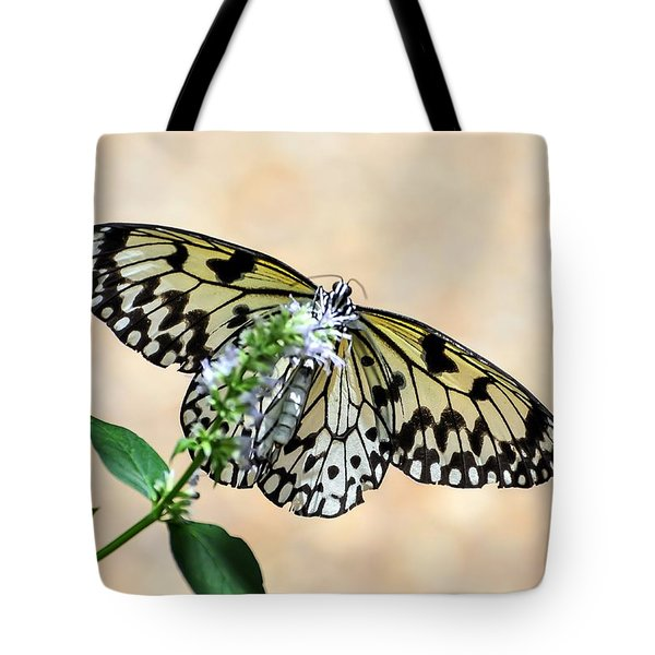 Showy Nymph Tote Bag by Debbie Green