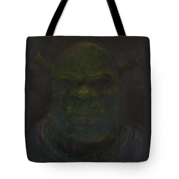 Shrek Tote Bag by Antonio Ortiz