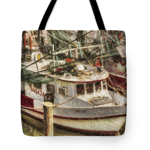 Shrimp Boat Lucky Lady Tote Bag