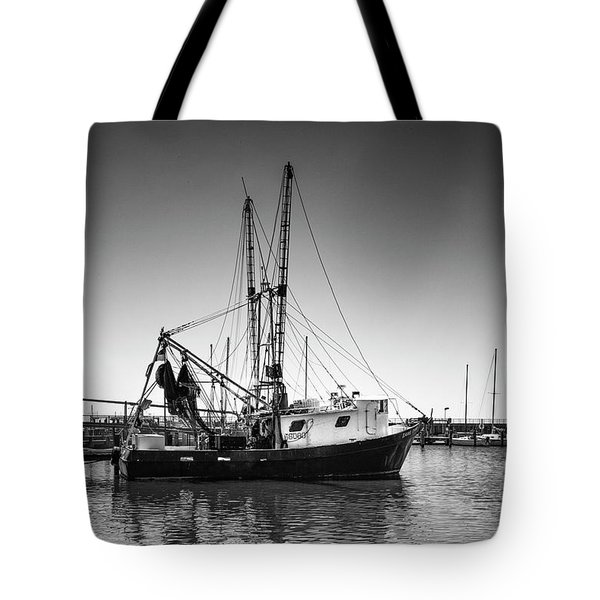 Shrimp Boat Tote Bag