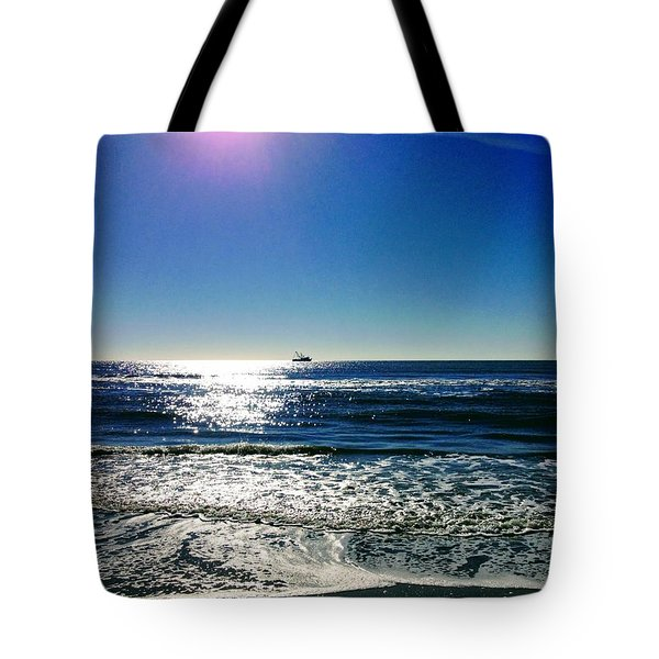 Shrimp Season Tote Bag