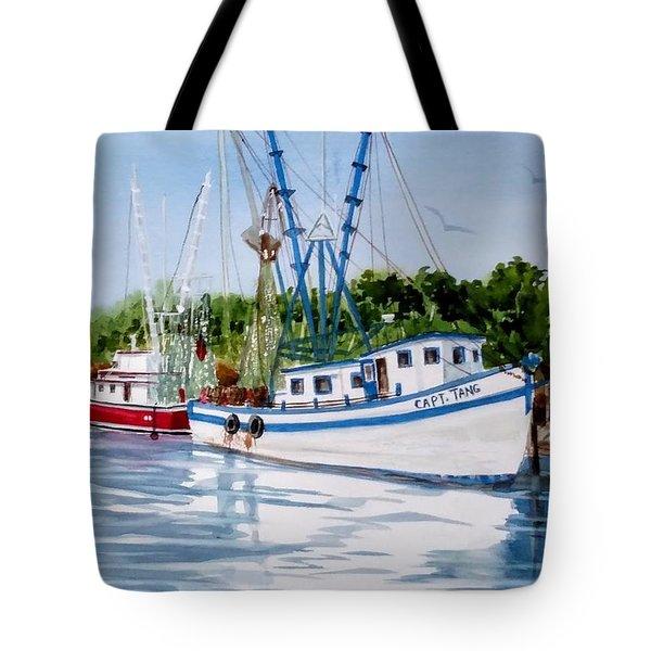 Shrimpers Tote Bag