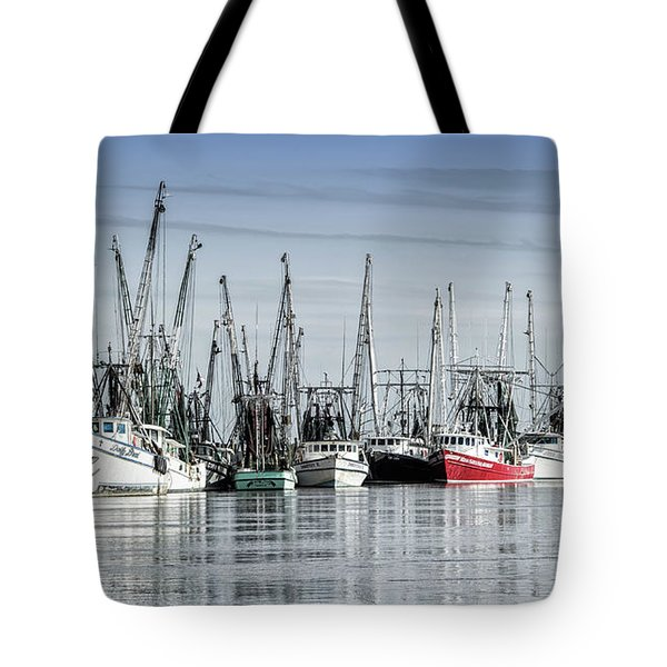 Shrimper's Day Is Done Tote Bag