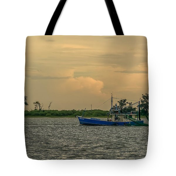 Shrimpin Tote Bag by Brian Wright