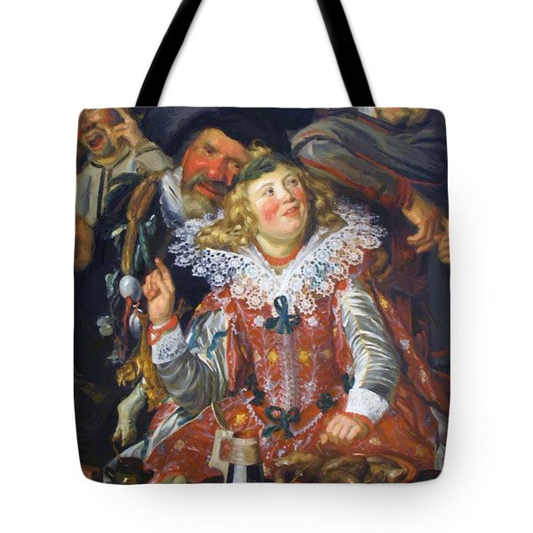 Shrovetide Revellers The Merry Company Tote Bag