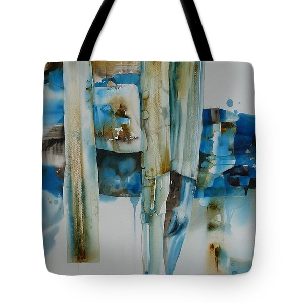 Shuffling Memories Tote Bag by Donna Acheson-Juillet