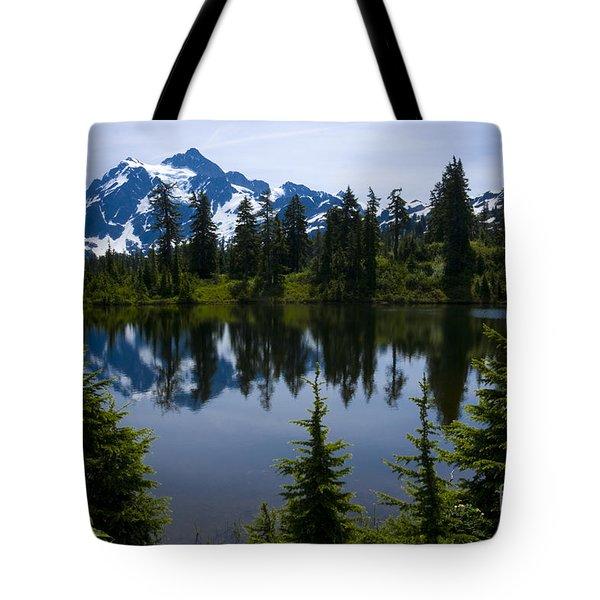Shuksan In Spring Tote Bag by Idaho Scenic Images Linda Lantzy