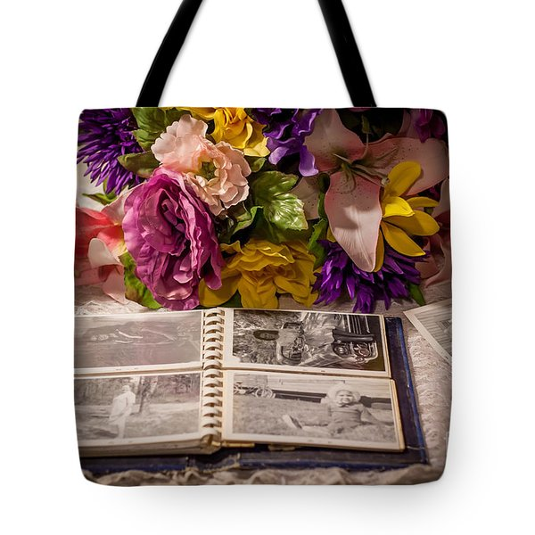 Shur Shot From The Past In Color Tote Bag