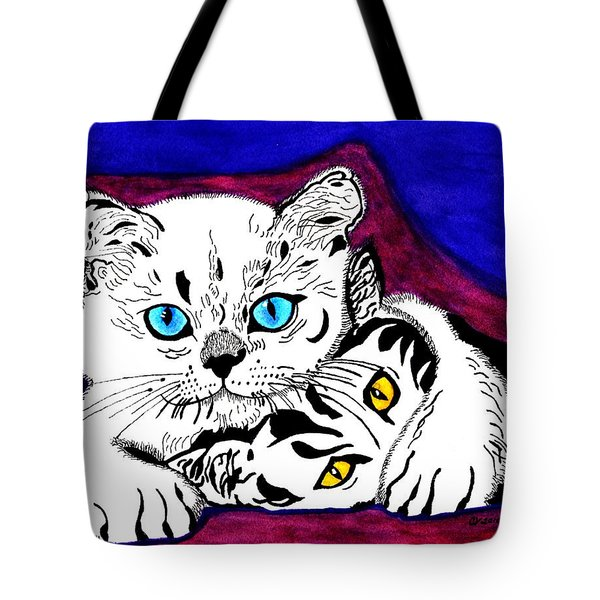 Shush Don't Tell Tote Bag