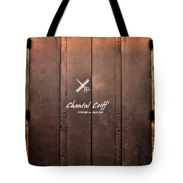 Tote Bag featuring the photograph Shutter by Tom Prendergast