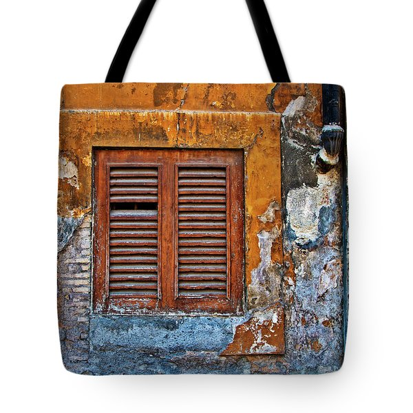 Tote Bag featuring the photograph Shuttered by Harry Spitz