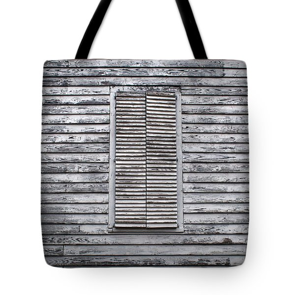 Tote Bag featuring the photograph Shuttered by Mark Guinn