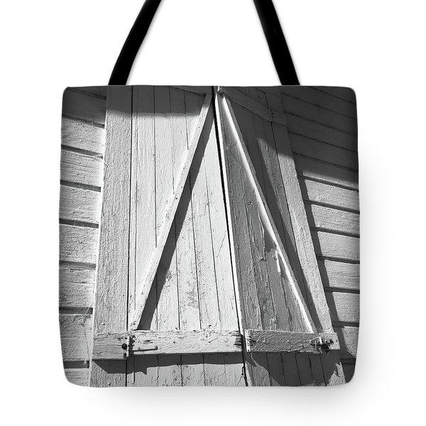 Shutters Tote Bag