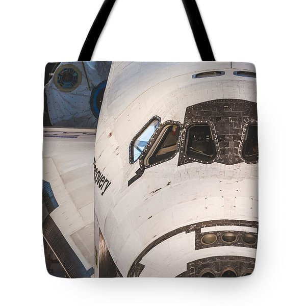 Shuttle Close Up Tote Bag by David Collins