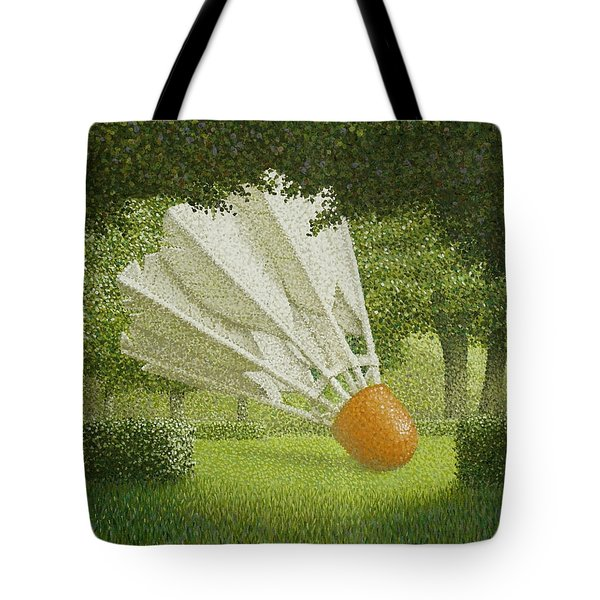Shuttlecock Tote Bag by John Gilluly