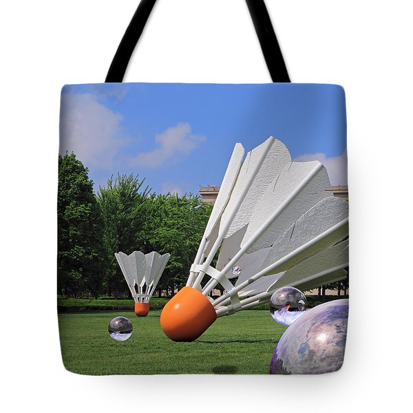 Shuttlecock Visitors Tote Bag
