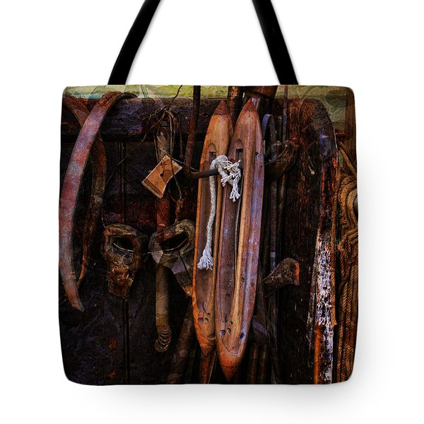 Shuttling The Past Tote Bag