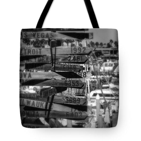 Show Me The Way... Tote Bag