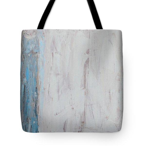 Shy Angel Tote Bag