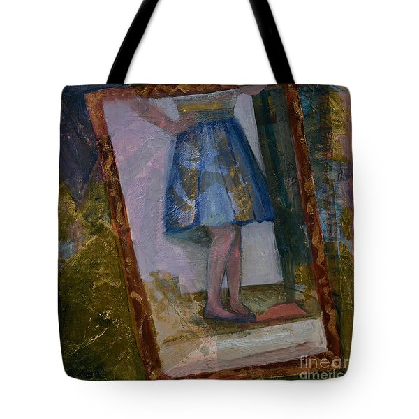 Shy Reflection Tote Bag