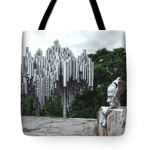 Sibelius Monument Tote Bag