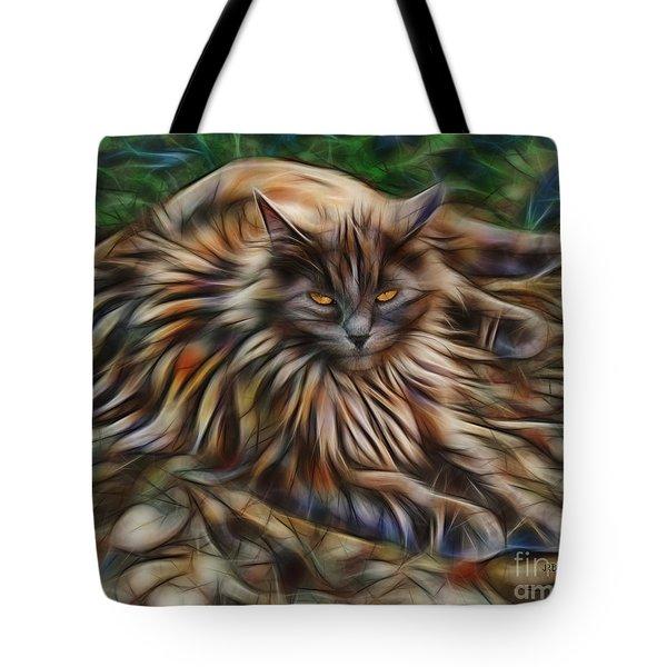 Siberian Attitude Tote Bag by John Robert Beck