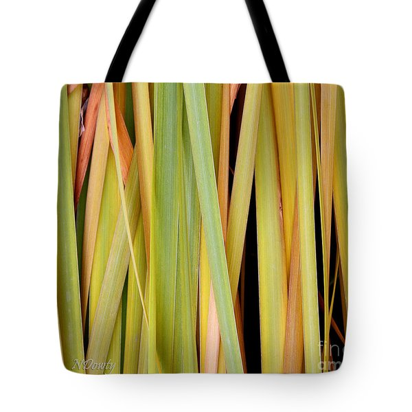 Siberian Iris In Winter Tote Bag