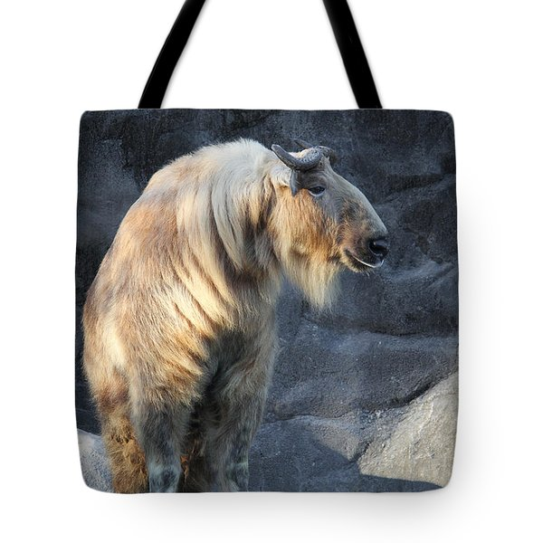 Sichuan Takin Tote Bag
