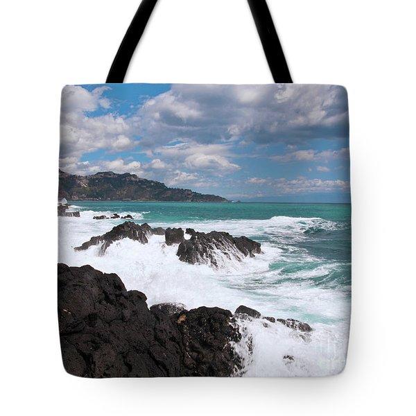 Sicilian Stormy Sound Tote Bag